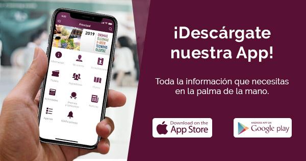 Nueva App de Enomaq, Oleomaq, Tecnovid, Oleotec y E-Beer 2019
